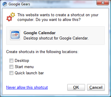 iSchool » Offline Google Calendar, Available for Everyone