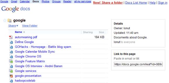 google-docs-public-folder