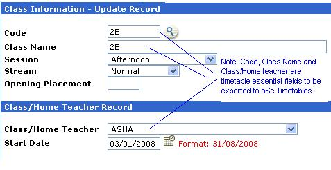 Management Systems » aSc Timetable